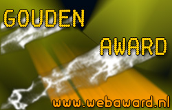 Webaward.nl Gold Award